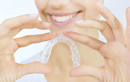 No Metal Braces Use Invisible braces - Orthodontics at your local walled lake mi dentist office
